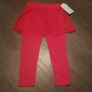 4T little girls leggings